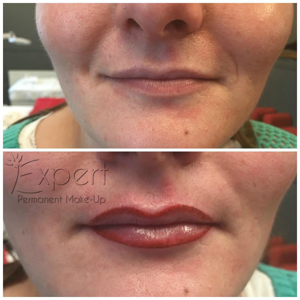 Vorher-Nachher-Bilder von Permanent Make-up in Berlin bei «EXPERT»